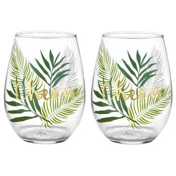 Set of 2 Cheers Glasses