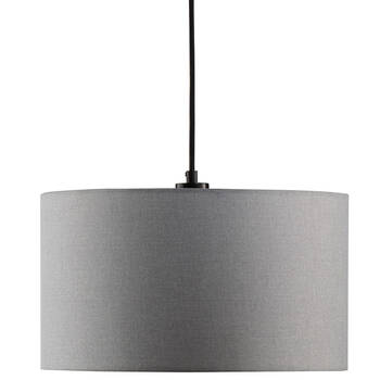 Lampe suspendue en lin