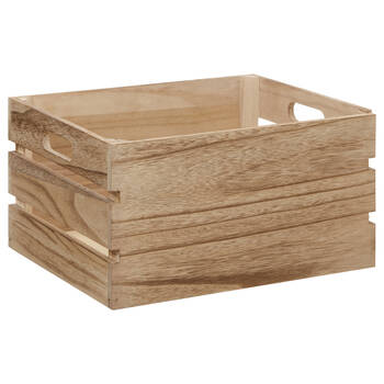 Natural Wood Crate