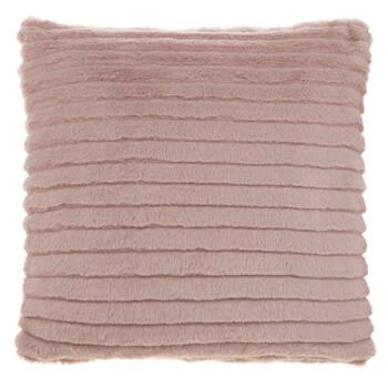 "Mezzo Faux Fur Decorative Pillow 18"" X 18"""