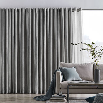 Birmingham Striped Sheer Curtain