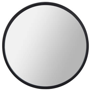 Round Framed Mirror