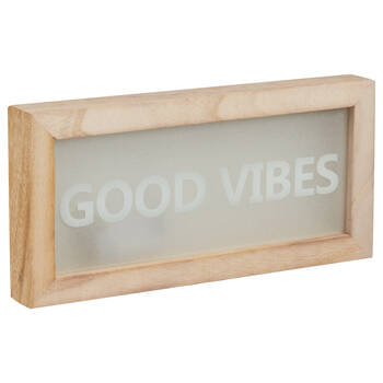 LED Good Vibes Box