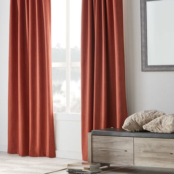 Rod Pocket Blackout Curtain - Vence