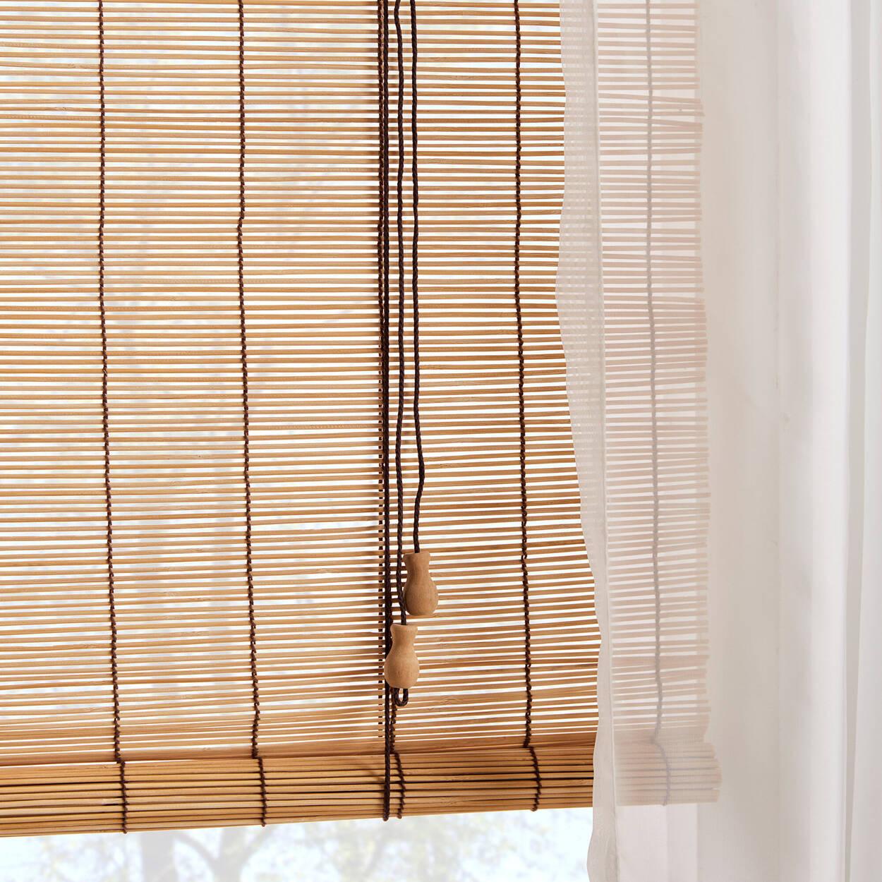 Store à rouler en bambou