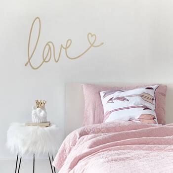 Autocollant mural « Love »