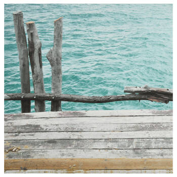 Broken Pier Printed Canvas