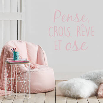 Typography Wall Sticker