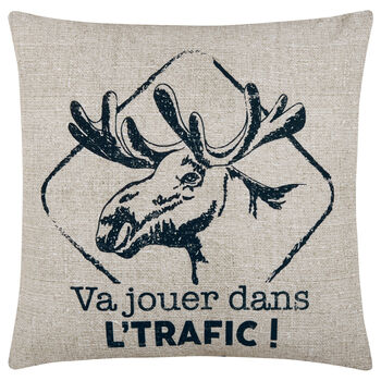 "Traffic Decorative Pillow Cover 18"" X 18"""