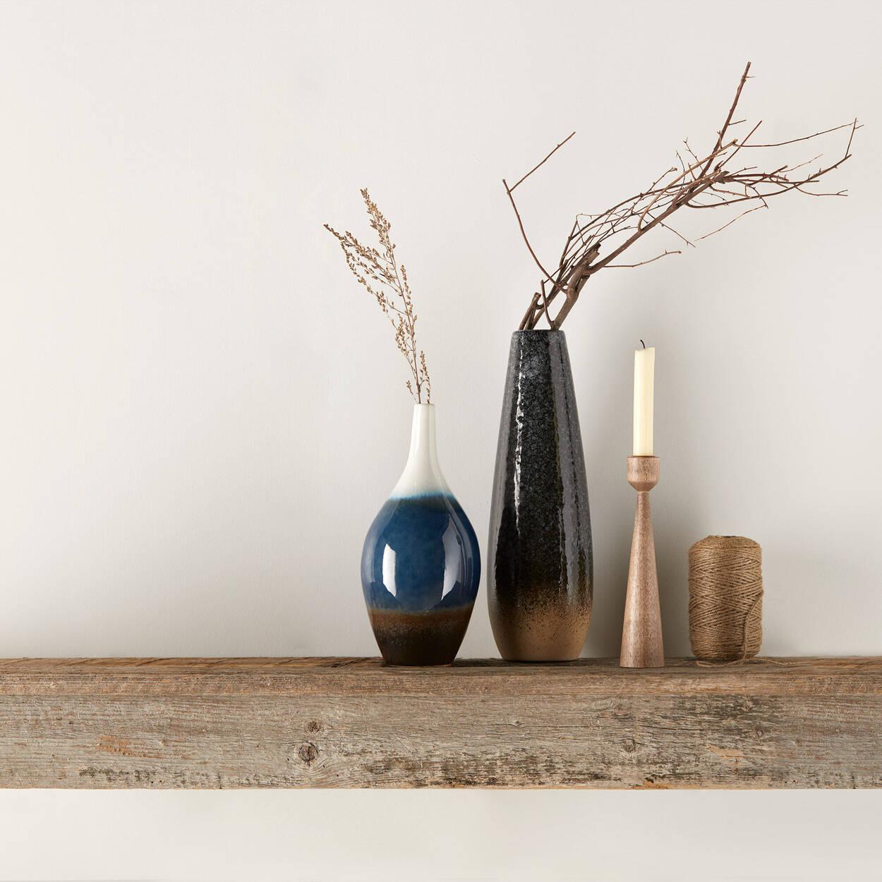 Vase de table en grès