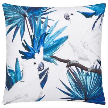 "Cockatoo Water-Repellent Decorative Pillow 18"" X 18"""