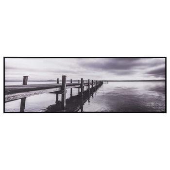 Long Pier Framed Art