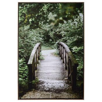 Garden Bridge Framed Art
