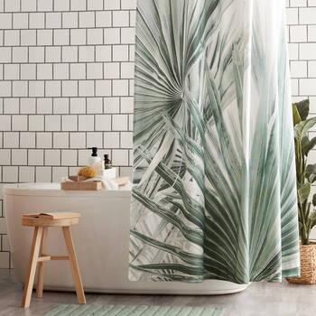 Rideaux de douche Palmiers Sauges