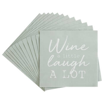 Pack of 20 Laugh Paper Napkins