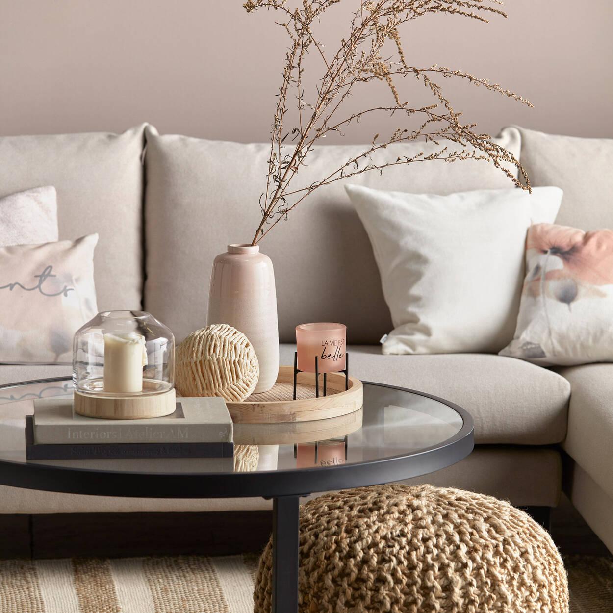 Vase en céramique à effet triple