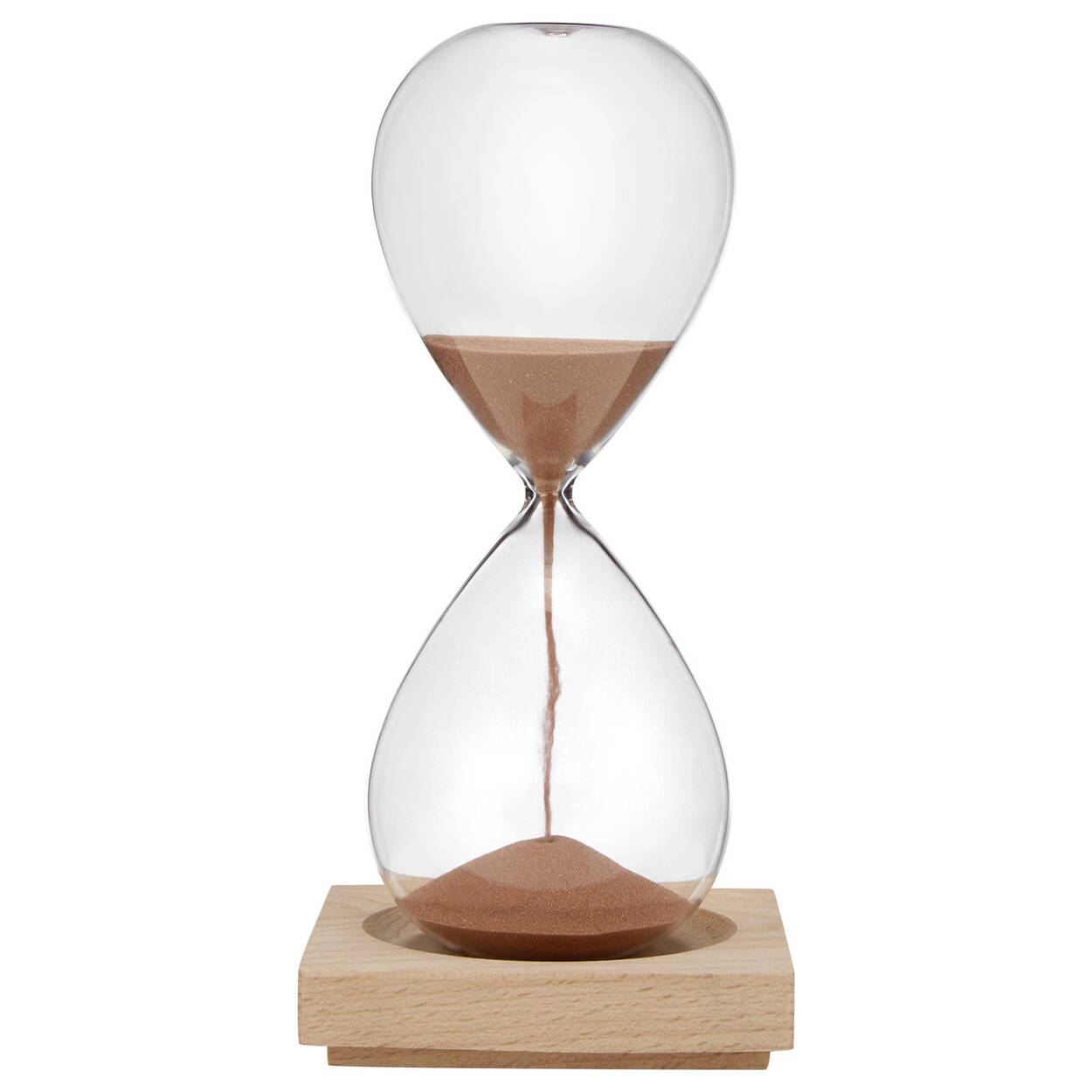 Decorative Hourglass With Wood Base Bouclaircom - Decorative-hourglass