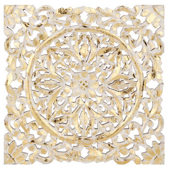 Decorative Gold Foil Plaque