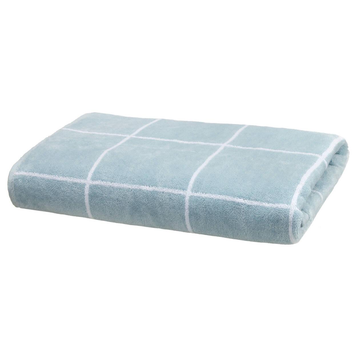 Checkered Bath Towel