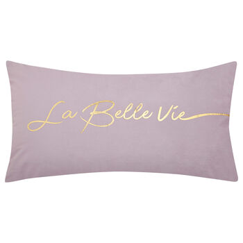 "La Belle Vie Decorative Lumbar Pillow 11"" X 21"""