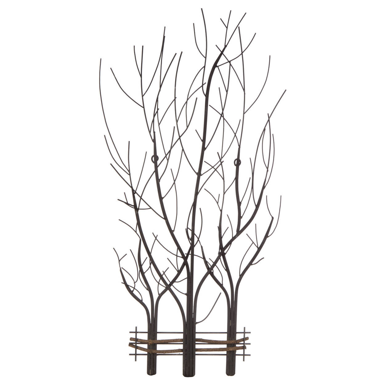 Metal Branches Wall Art