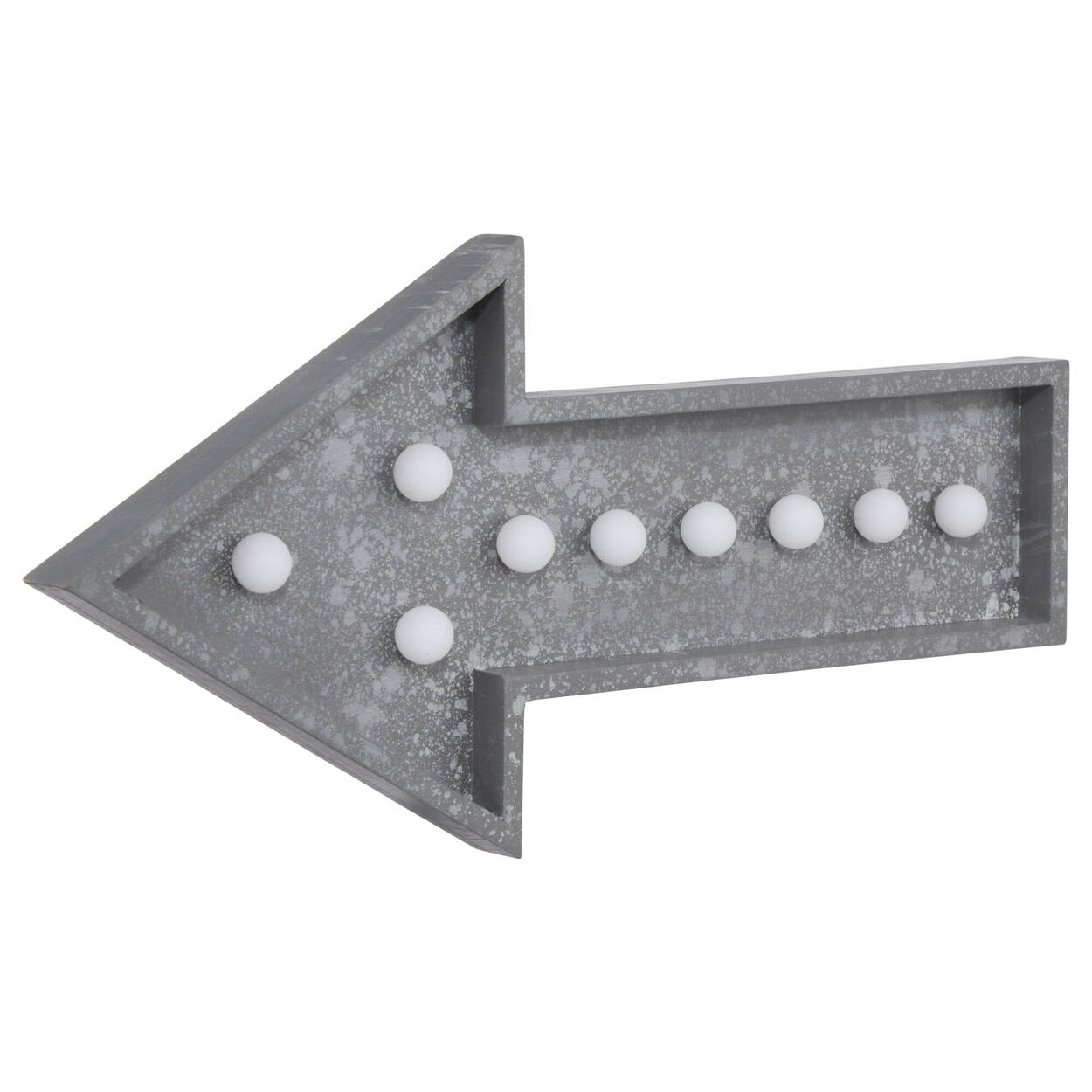 Grey LED Arrow