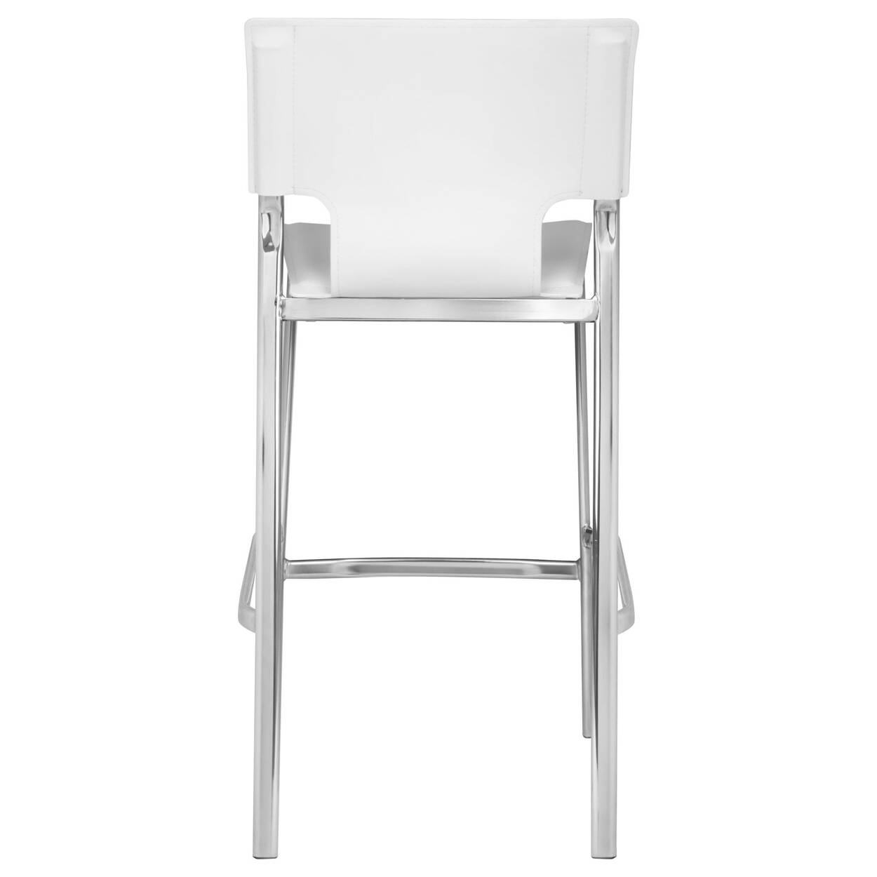 Cool Faux Leather And Metal Bar Stool Gmtry Best Dining Table And Chair Ideas Images Gmtryco