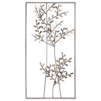 Framed Organic Megal Tree