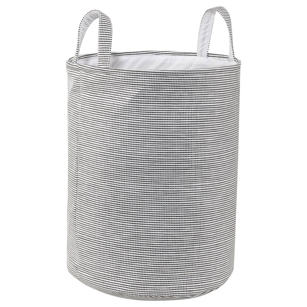 Striped Hamper with Handles