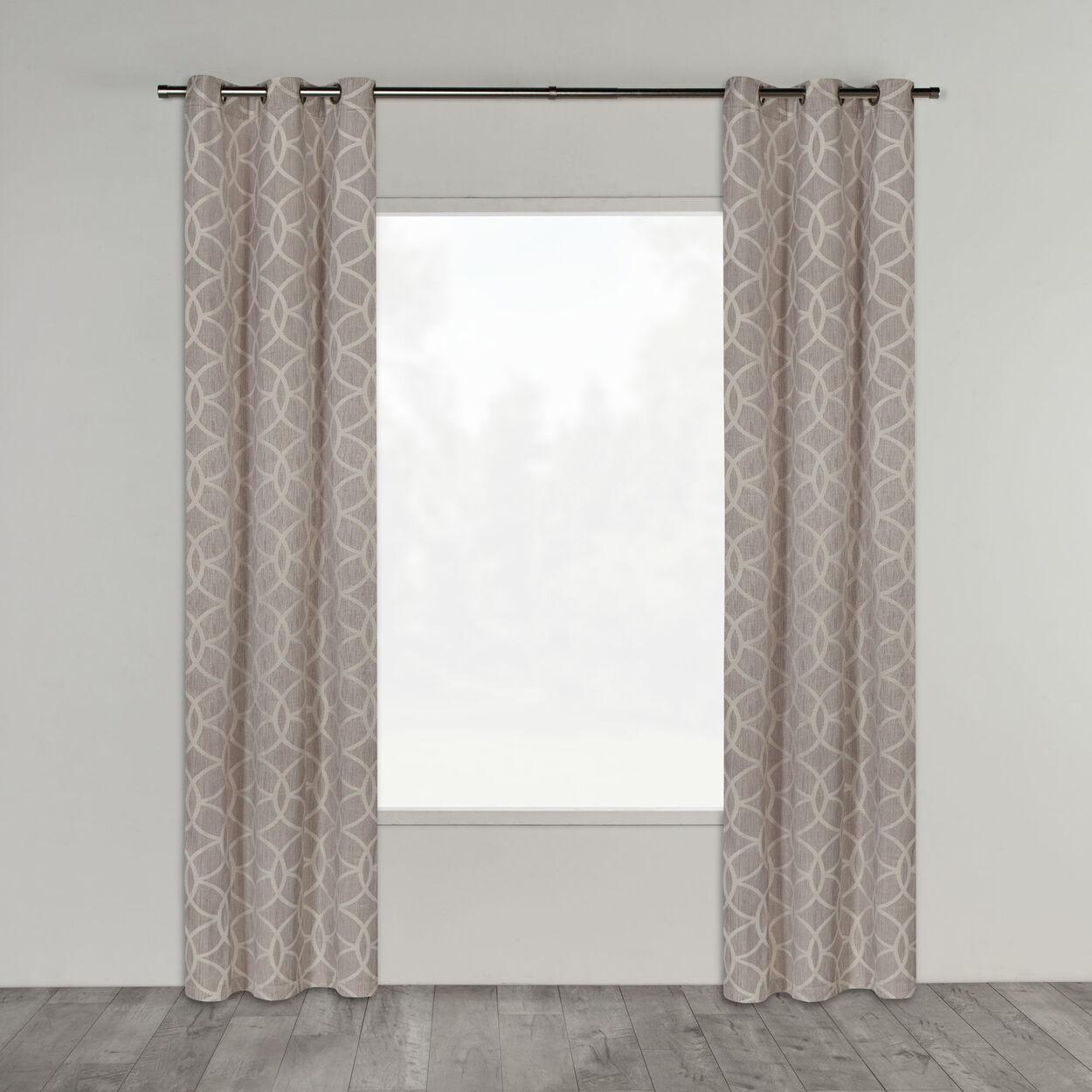 Vanessa Jacquard Panel Curtain