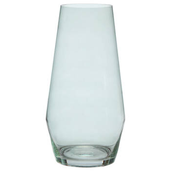Aqua Glass Table Vase
