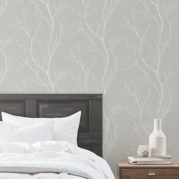 Meadow Tree Wallpaper - Double Roll