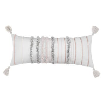 "Lavida Decorative Lumbar Pillow 10"" x 26"""