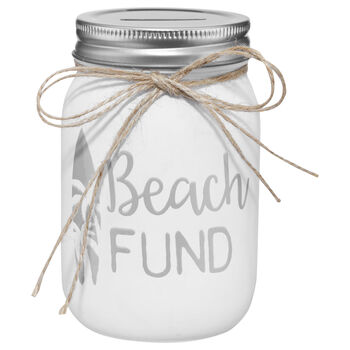 Beach Fund Money Bank