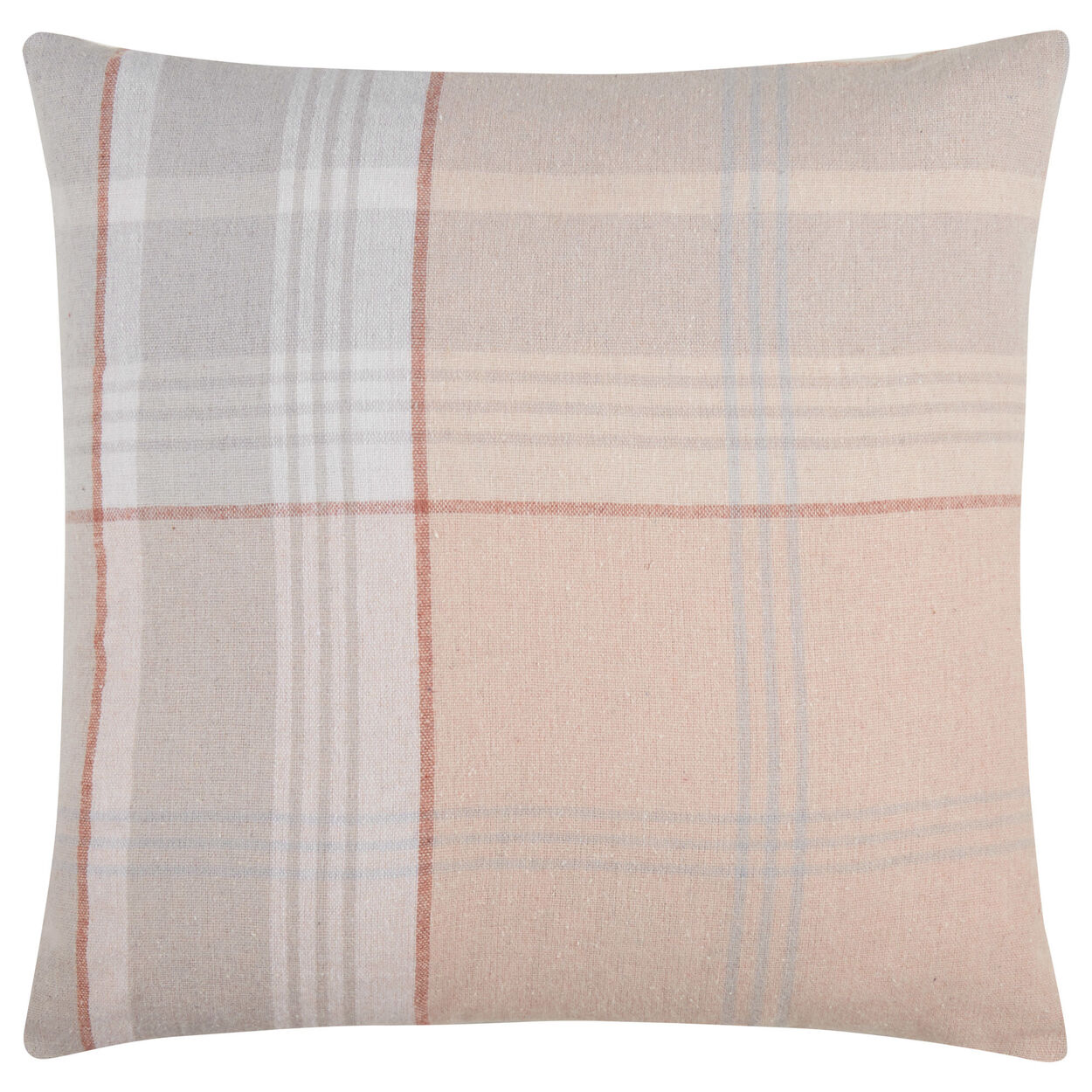 "Darryl Plaid Fleece Decorative Pillow 18"" X 18"""