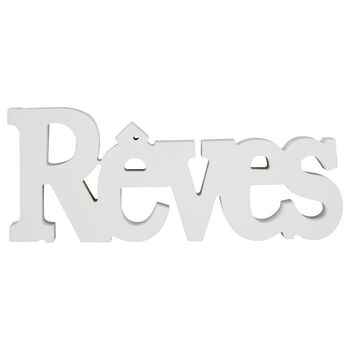 Mot décoratif Rêves