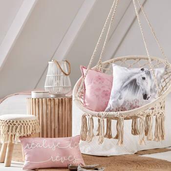 """Sunride Horse Decorative Pillow 18"""" x 18"""""""