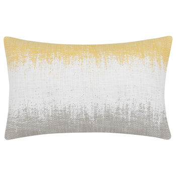 "Saffron Jacquard Decorative Lumbar Pillow 13"" X 20"""