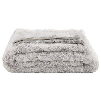 "Isela Faux Fur Throw 50"" X 60"""