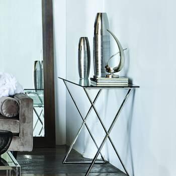 Double Texture Floor Vase
