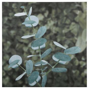 Foliage Printed Canvas