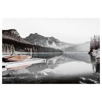 Tableau imprimé d'un lac calme