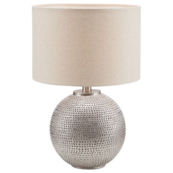 Poyresin and Fabric Table Lamp