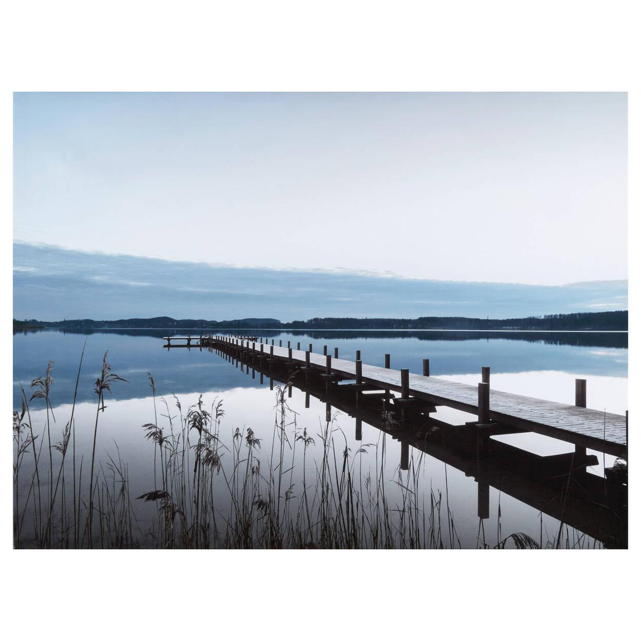 Dock Organic Printed Canvas