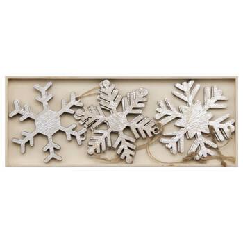 Ensemble de 9 ornements flocons de neige