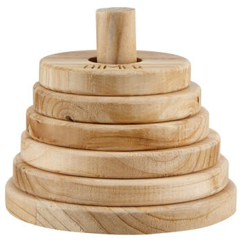 Wooden Ring Stack Toy