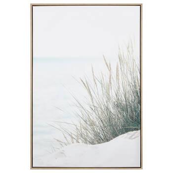 Grass on the Beach Printed Framed Art