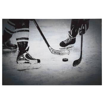Hockey Printed Canvas