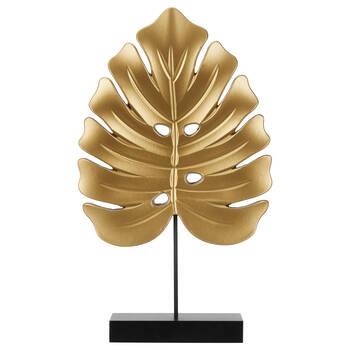 Feuille décorative dorée