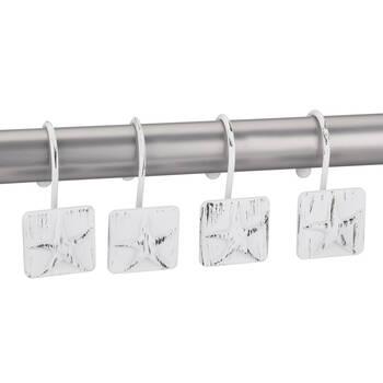 Set of 12 Star Shower Curtain Hooks